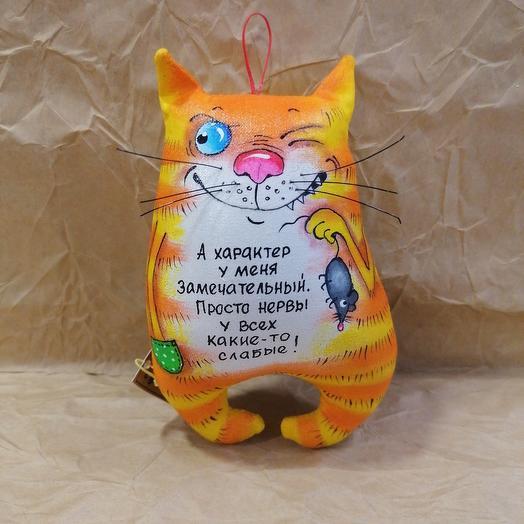 Игрушка-магнит кот