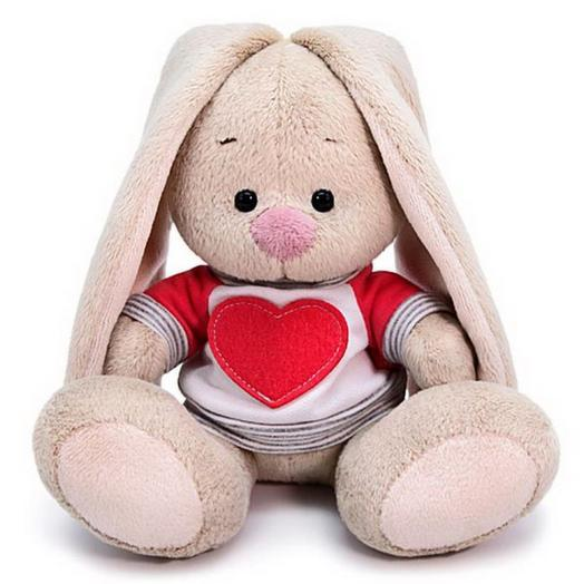 Коллекционная игрушка «Зайка Ми» в толстовке с сердцем