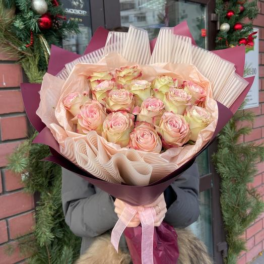 Roses in the cold