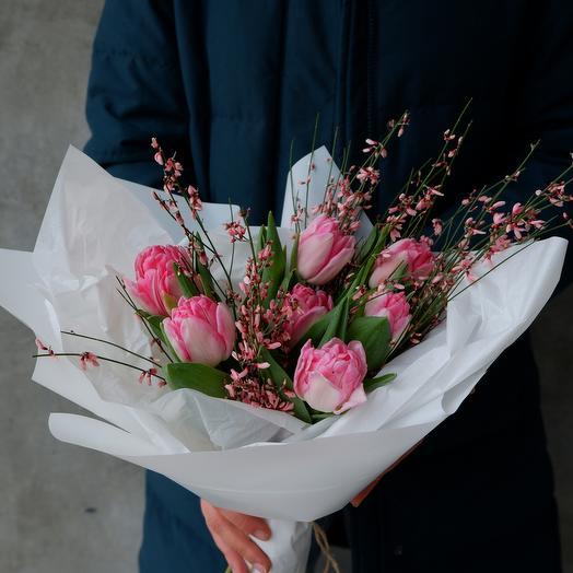 Ягодные тюльпаны