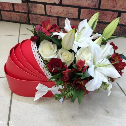 Люлька с цветами