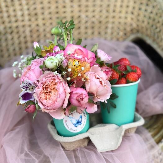Цветочно-ягодное настроение