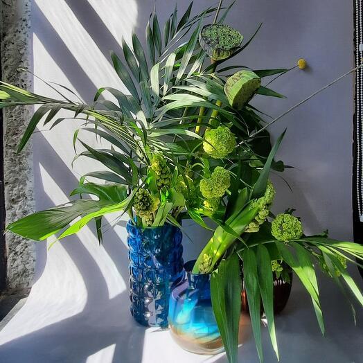 """Набор """"цветы и вазы: тропический сет"""""""