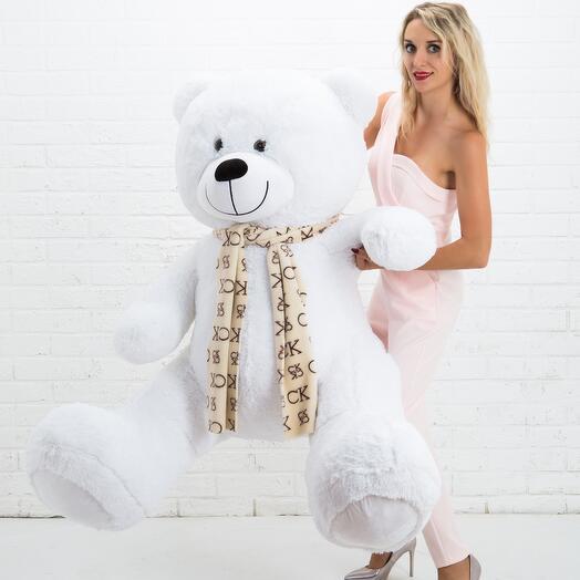 Мишка 185 см «Тауер медиум» белый