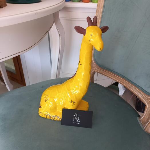 Статуэтка Жираф (португальский керамика)