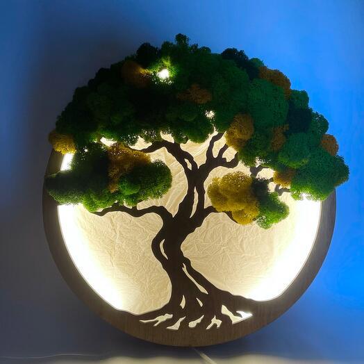 Светильник Сказочный дуб