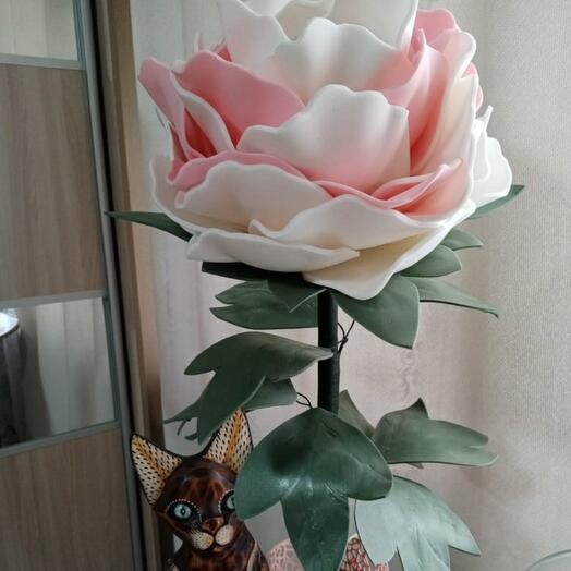 """Светильник """"Роза"""" ручная работа"""