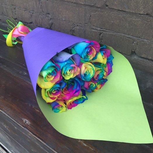 Rainbow 15: букеты цветов на заказ Flowwow