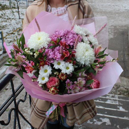 На свидание: букеты цветов на заказ Flowwow