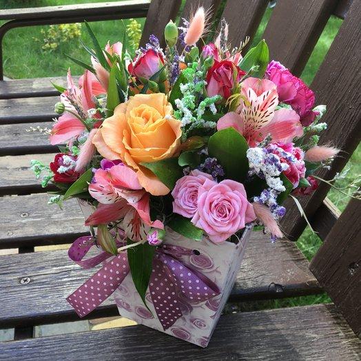 Трапеция «Блоссом лайт»: букеты цветов на заказ Flowwow