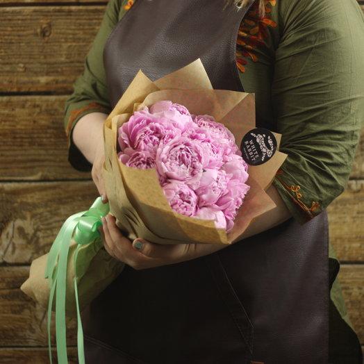 11 пионов: букеты цветов на заказ Flowwow