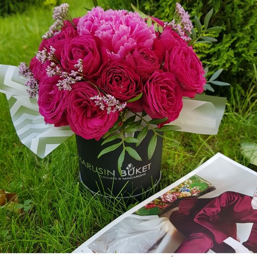 Стиль и грация: букеты цветов на заказ Flowwow