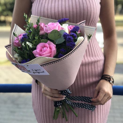 Цветочный комплимент а-ля Париж: букеты цветов на заказ Flowwow