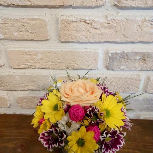 Солнечный шарик: букеты цветов на заказ Flowwow