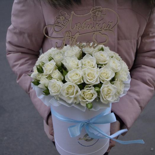 """Прекрасной """"Маме""""(Топпер в подарок): букеты цветов на заказ Flowwow"""
