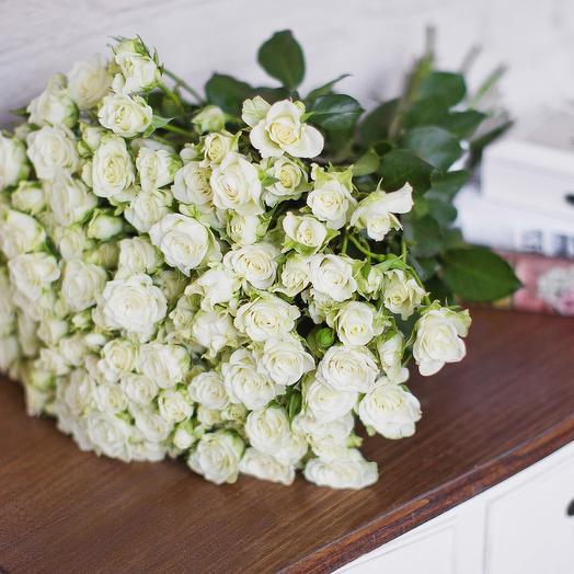 Букет 41 кустовой розы: букеты цветов на заказ Flowwow