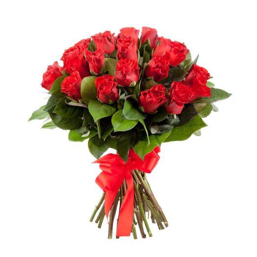 Букет из красной кенийской розы: букеты цветов на заказ Flowwow