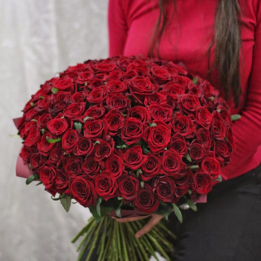 "101 РОЗА ""ВАЖНОЕ СОБЫТИЕ"": букеты цветов на заказ Flowwow"