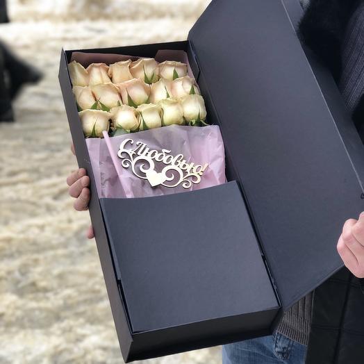Эксклюзивный подарок на 14 февраля: букеты цветов на заказ Flowwow