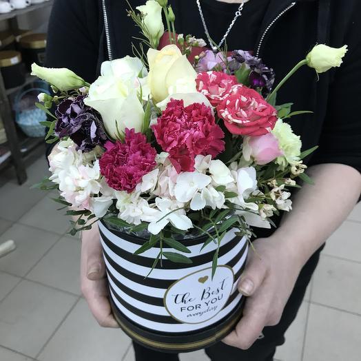 Коробка «Волшебство»: букеты цветов на заказ Flowwow