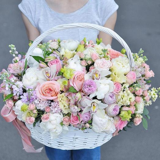 Пастельные тона: букеты цветов на заказ Flowwow