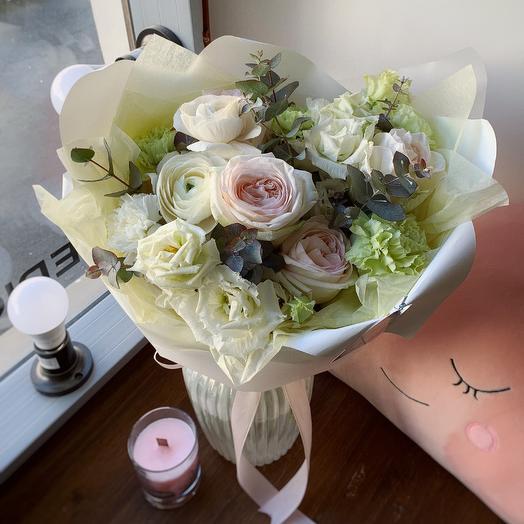 Облачко букет: букеты цветов на заказ Flowwow