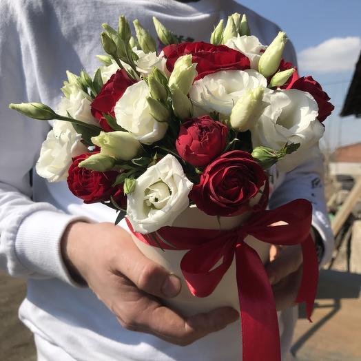 Коробка Цветов микс: букеты цветов на заказ Flowwow
