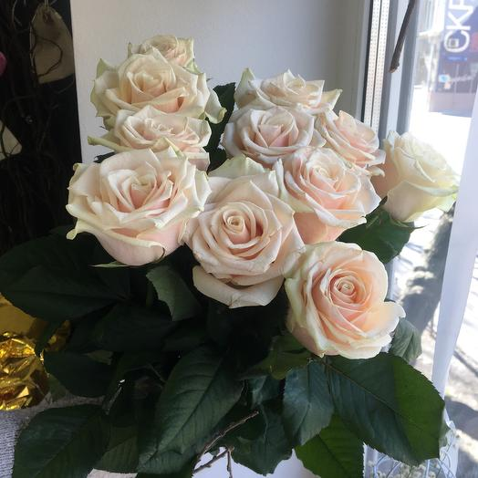 Милые розы: букеты цветов на заказ Flowwow