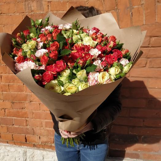 Микст: букеты цветов на заказ Flowwow