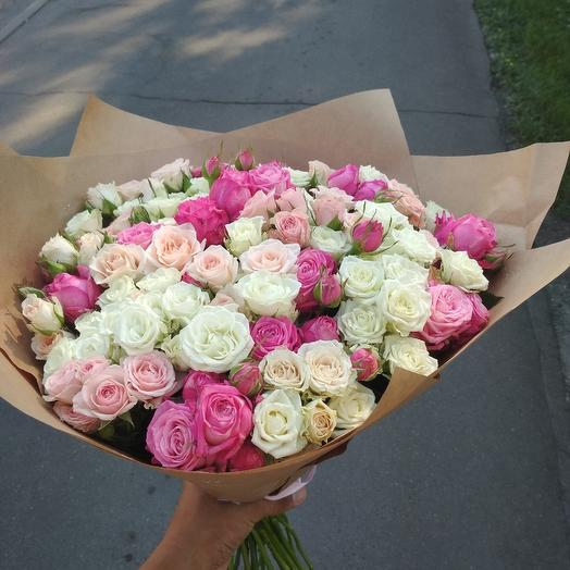 Микс из кустовых: букеты цветов на заказ Flowwow