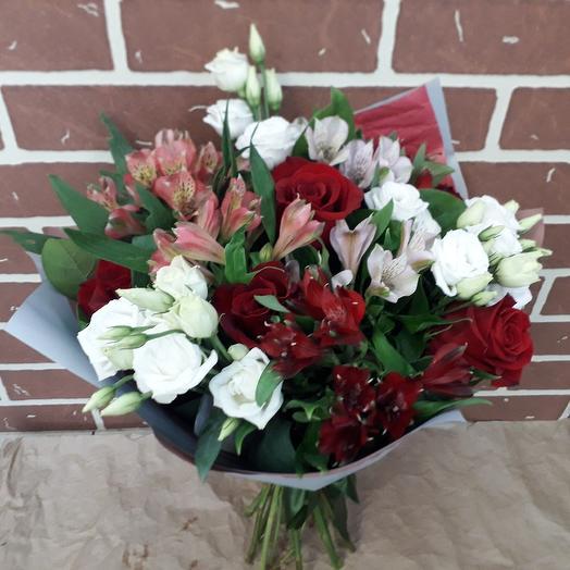 Праздничный букет: букеты цветов на заказ Flowwow