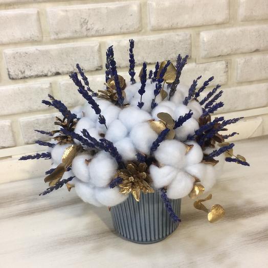 Снежная лаванда: букеты цветов на заказ Flowwow