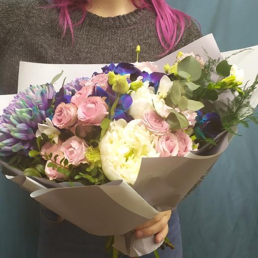 Стильный аккорд: букеты цветов на заказ Flowwow