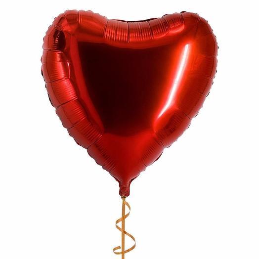 Сердце большое 70*70