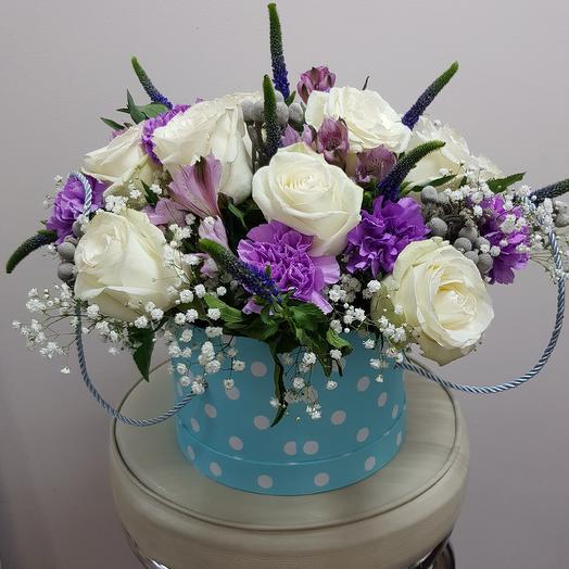 Шляпка звёздочка: букеты цветов на заказ Flowwow