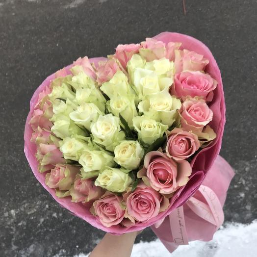 ️ нежная ️ любовь: букеты цветов на заказ Flowwow