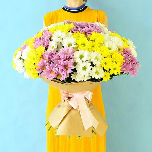 29 Хризантема Кустовая: букеты цветов на заказ Flowwow