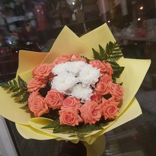Облако Безе: букеты цветов на заказ Flowwow