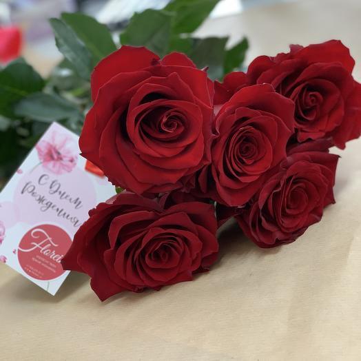 Красные розы «эксплоер»