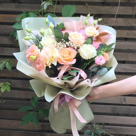 Букет Летний джаз: букеты цветов на заказ Flowwow