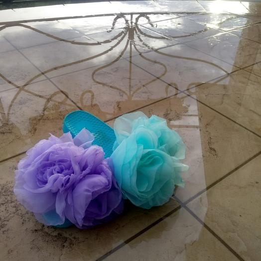 Тапки с цветами: букеты цветов на заказ Flowwow