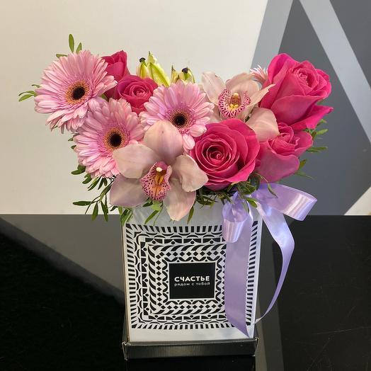 Счастье рядом с тобой: букеты цветов на заказ Flowwow