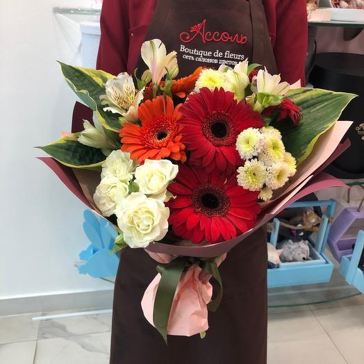 Моменты: букеты цветов на заказ Flowwow