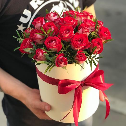 Кустовые розы «Би Баблз»