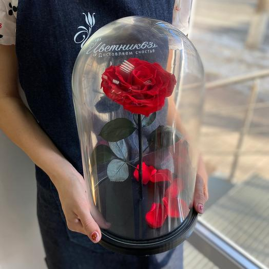 Rose in the flask King Size