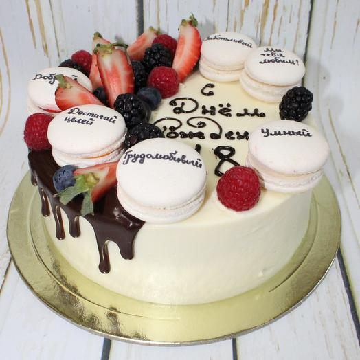 Торт с пожеланиями
