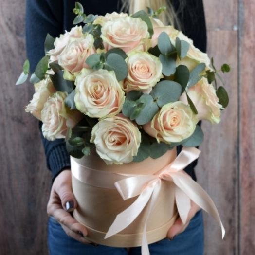 Цветы в коробке Талея