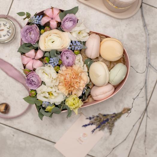 Цветы с зефиром