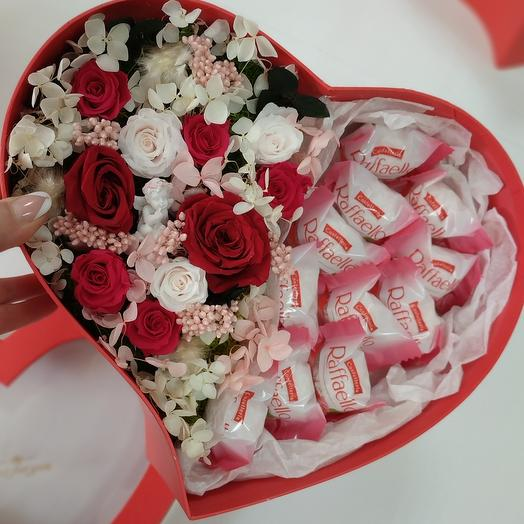 """""""M"""" Цветы в коробке"""