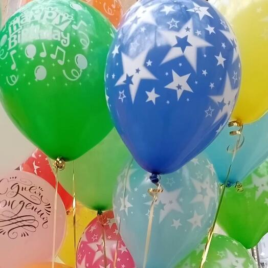 25 воздушных шариков